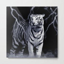 SPIRIT TIGER OF THE WEST Metal Print