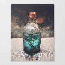 What Lurks Beneath Canvas Print