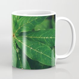 Diamond Leaf Coffee Mug