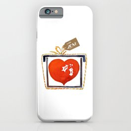 I give you my heart iPhone Case