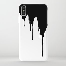 Dripping Ink iPhone Case