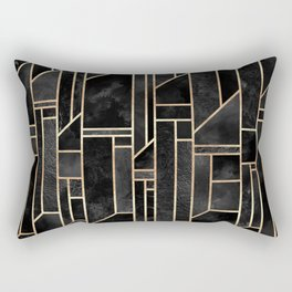 Black Skies Rectangular Pillow