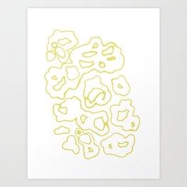 """""""Doray"""" - (white) Art Print"""