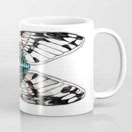 Turquoise Cicada Coffee Mug