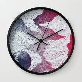 PLANET DUST Wall Clock