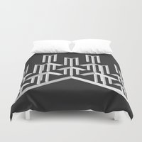 illusion Duvet Covers featuring Illusion by designpraxis