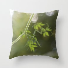 Trailing Throw Pillow