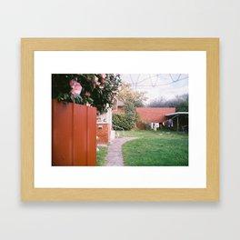 Hills Hoist Framed Art Print