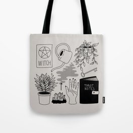 Witchy Treasures Tote Bag