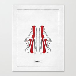 AIR MAX 1 sneaker illustration Canvas Print