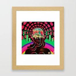 Gaia's Dome Framed Art Print