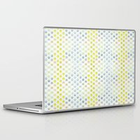 polka dots Laptop & iPad Skins featuring Polka dots by Selkiesong