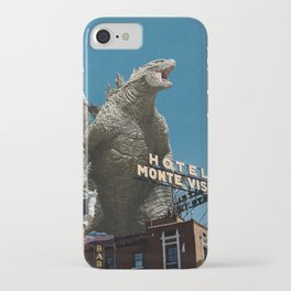 Gojira Visits Heart of America iPhone Case