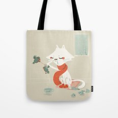 Running nose Tote Bag