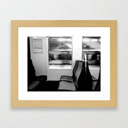 Another Train  Framed Art Print