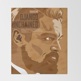 Quentin Tarantino's Plot Movers :: Django Unchained Throw Blanket