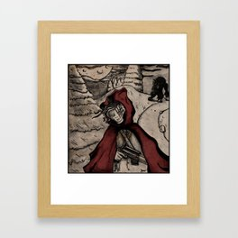 Le Petit Chaperon Rouge Framed Art Print