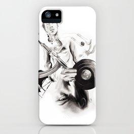 "P.O.A.M (Portrait of a Memory) ""D"" iPhone Case"