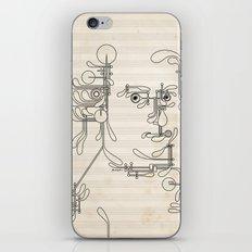 Custom made Mozart iPhone & iPod Skin