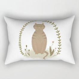 Nature Cat Rectangular Pillow