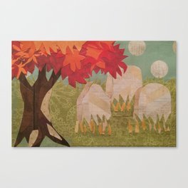 Cemetery 004 Canvas Print