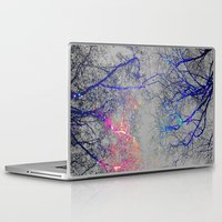 led zeppelin Laptop & iPad Skins featuring Led strip lights by haroulita