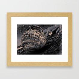Teslavolt Framed Art Print