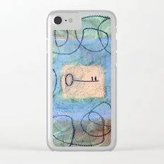 key in maze Clear iPhone Case