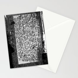 damaged and damned Stationery Cards