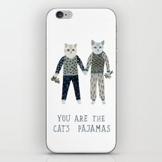 You are the Cat's Pajamas iPhone & iPod Skin