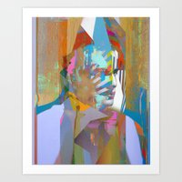 tchmo Art Prints featuring Untitled 20150525q by tchmo