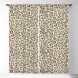 Leopard - Neutral Colors Blackout Curtain