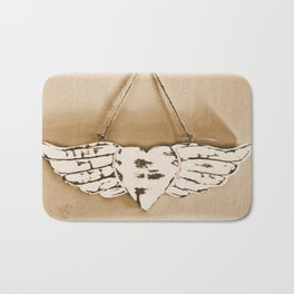Love Gives You Wings Bath Mat