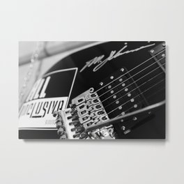 Guitar sustain Metal Print