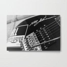 Guitar sustain Metal Print