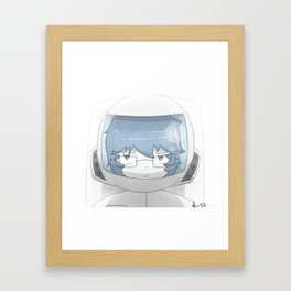 Spaceman Muggy Framed Art Print