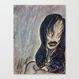 Faceless Identity of Mine Canvas Print