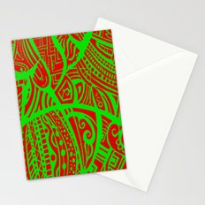 Abstractish 3 Stationery Cards