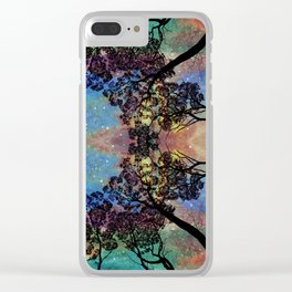 Aurora Grove Clear iPhone Case