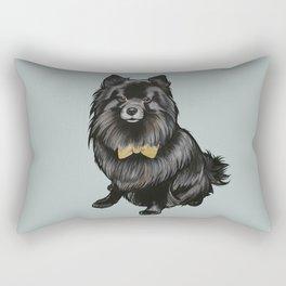Ozzy the Pomeranian Mix Rectangular Pillow