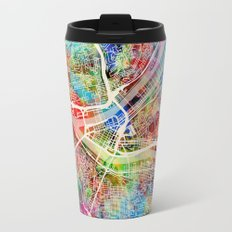 Pittsburgh Pennsylvania Street Map Travel Mug