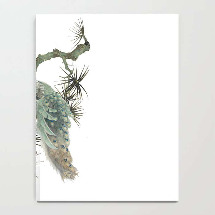 Turquoise Peacock Notebook