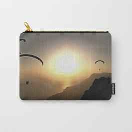 Paragliders Flying Without Wings Carry-All Pouch