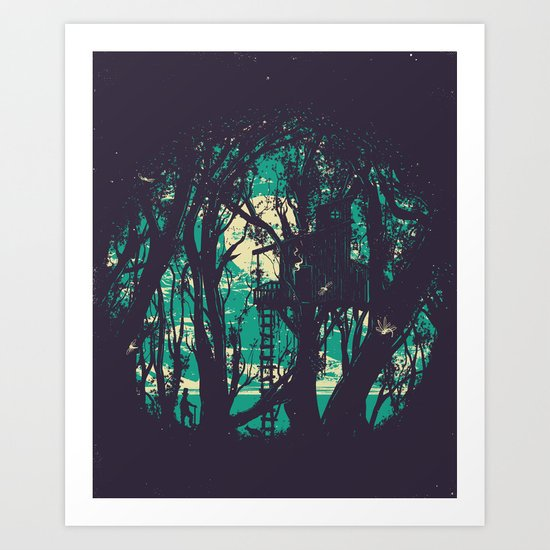 Post Meridiem Art Print