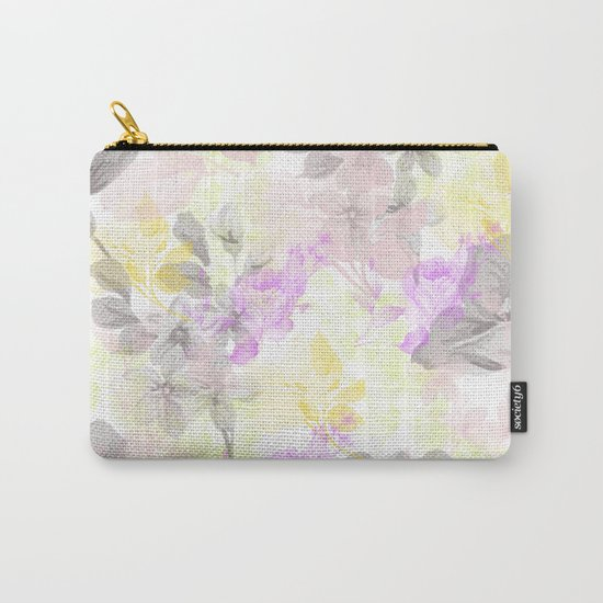 Vintage flora 01 Carry-All Pouch