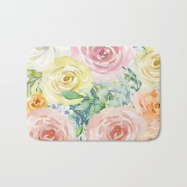 Botanical Pastel Beauty Bath Mat