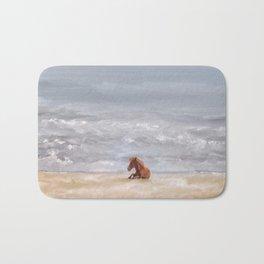 Beach Baby Bath Mat