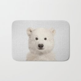 Polar Bear - Colorful Bath Mat