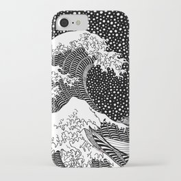 Hokusai - The Great Wave of Kanagawa iPhone Case