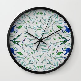 in a mood of pattern Wall Clock